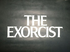 """1973 Advance Movie Poster ? The Exorcist Black & White Printed In USA 24-1/2""""s x"""