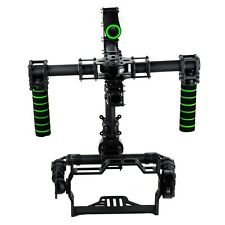 3 axis DSLR Brushless Gimbal Glass Fiber Handle Camera Mount DSLR 5D GH3 for FV