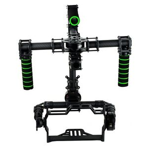 3 Axis 360 Degree DSLR Camera Brushless Gimbal Stabilizer Stand Frame W/O Motor