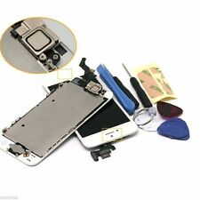OEM Per iPhone 5 LCD Touch Screen Schermo Display + Home Button + Camera Bianco