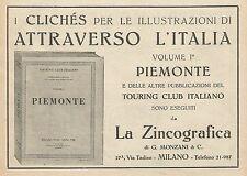 Z0621 Pubblicità del 1930 - Advertising - La Zincografia di G. Monzani