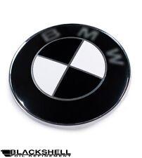 Blackshell Aufkleber für alle BMW Embleme - 74 tlg. in schwarz glänzend