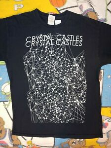 2008 Crystal Castles Crimewave Tee Size Medium Alice Glass HEALTH