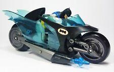 """Mattel 2004 Batman Animated G3439 DC BATCYCLE/BATBIKE 22cm 9"""" Friction Motor"""