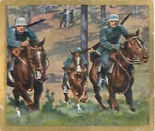 N°137 World War German Soldiers Riders ambush Reichswehr Germany WWI 30s CHROMO