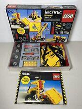 Vintage 1984 LEGO Technic 8040 Pneumatic Set Near Complete w Box & Instructions
