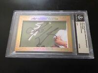 Karrie Webb 2013 Leaf Masterpiece Cut Signature signed autographed 1/1 JSA LPGA