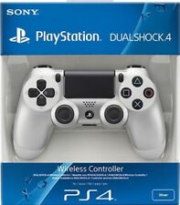 PS4 Sony Dualshock 4 Wireless Controller for PlayStation 4 - Silver, Brand NEW