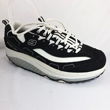 Skechers Shape Ups Black Athletic Comfort Walking Sneakers Womens Size 9.5 US