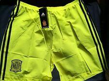 Problema de reproductor de España 2013-15 Lejos Portero Shorts Adidas BNWT adultos grandes