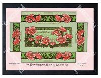 Historic California Perfume Co. 1890s Advertising Postcard
