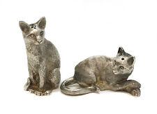 Tiffany & Co. London Sterling Silver Cat Salt & Pepper Shakers, 1988