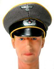 NewLine Miniatures - 1/6 German Heer Crusher Cap - Yellow Piping