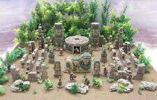 Mesoamerican-aztec-des Mayans 'TOTEMS, Idol & Statue Pack' - Pre Painted terrain
