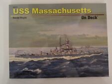 Squadron Book: USS Massachusetts On Deck Book - Color & BW Photos