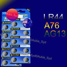 20 x LR44 Battery AG13 A76 Alkaline Batteries 1.5V Fast Post from Sydney