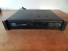 Qsc Rmx 1450 Pro Dj Stereo Power Amplifier & Audio Cable Very Good Condition