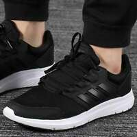 Adidas Men Shoes Running Work Out Training Galaxy 4 Cloudfoam Black F36163 New
