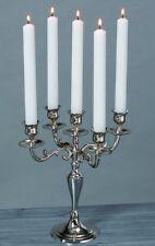 Kerzenleuchter Kerzenständer Kerzenhalter 5er Silber