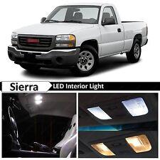 18x White LED Lights Interior Package Kit 2000-2006 Chevy Sierra