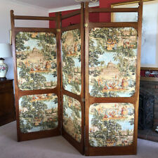 More details for ***decorative edwardian style 3-panel folding room screen***
