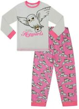 Girls Harry Potter Pyjamas Hedwig  My Letter From Hogwarts Pjs Pink White