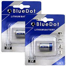 2 CR2 750mAh CR-2 DLCR2 ELCR2 EL1CR2 CR15270 VCR2NP 5046LC 3V Lithium battery