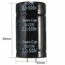 1PC Farad Capacitor 2.7V 500F 35*60MM Super Capacitor GOOD  ZO