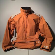 Vintage #13 Burton Snowboard Pull Over Orange Ski Winter Jacket Biolight Medium