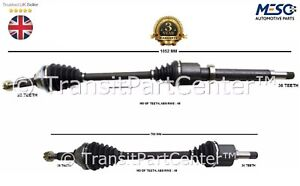 A PAIR OF DRIVE SHAFT FORD TRANSIT MK7 2006-2011 2.2 85 110 130 RIGHT LEFT