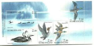 BIRDS FINLAND - Aquatic Birds booklet 1993 MNH (2 scans)