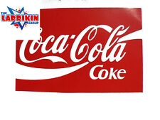 New Coca Cola Stickers 130mm X 90mm Rectangle
