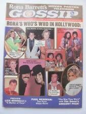 Nov 1976 Rona Barrett's Gossip Magazine Sonny & Cher Farrah Elvis David Bowie