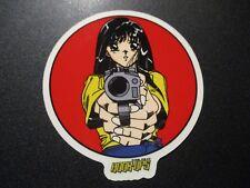 HOOK-UPS Skate Sticker BARREL OF A GUN boobs skateboards helmets decal hentai