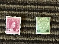 2 OVERPRINT1918 STAMP LUXEMBOURG  Marie Adelaide 10 Cent & 5 Cent lot