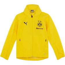 BVB Borussia Dortmund Trainingsjacke Fußball Jacke Regenjacke Gelb Kinder PUMA