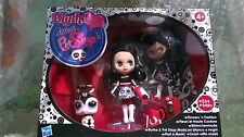 Blythe Little Littlest Pet Shop Flowers 'n Fashion Black & white collection