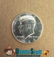 1964 P Kennedy half dollar BU 90% Silver Free Shipping USA