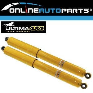 2 Rear Extended Gas Shock Absorbers suits Landcruiser 40 60 Series 61-10/85 H/D