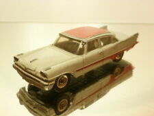DINKY TOYS 192 DESOTO FIREFLITE - GREY + RED 1:43 - GOOD CONDITION