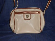 Womens Almondo Purse, Pocketbook, Handbag, Shoulder Bag, tan, 9 x 11 in, zips