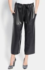NINA RICCI Leather cropped pants/ brand new w/tags from Barneys New York