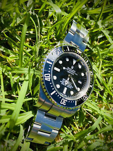 Sports Divers Watch | Stainless Steel Similar to Rolex Deep Sea - Good Condition