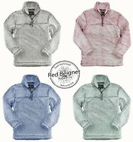 Sherpa Fleece, 3/4 Zip Pullover, Sizes XS-3X,