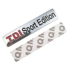 TDI Sport Edition Emblem Schriftzug Logo Metall Badge Sticker VW Volkswagen glnz