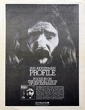 Focus Jan Akkerman Thijs van Leer Vintage 1970s Promotional Ads Collection