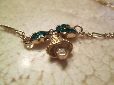 """Vintage .Avon Holly day  Ankle Bracelet  small size 8 1/2""""  ***New in Box***1990"""
