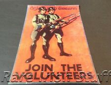 Join The Irish Volunteers - Oglaigh na hEireann Rare Recruitment Army Poster