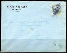 ROMANIA BUCAREST 4/18/1913 COVER TO FURTH GERMANY