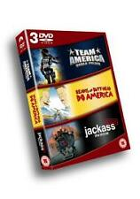 Team America - World Police / Beavis And Butthead / Jackass - The Movie (DVD,...